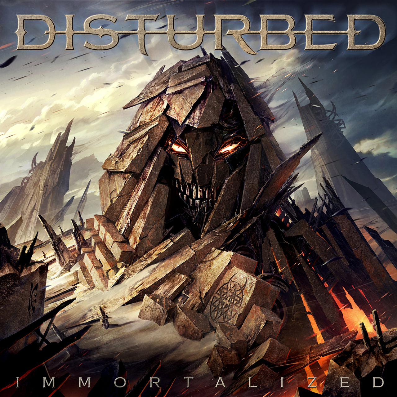 Disturbed : Immortalized  CD
