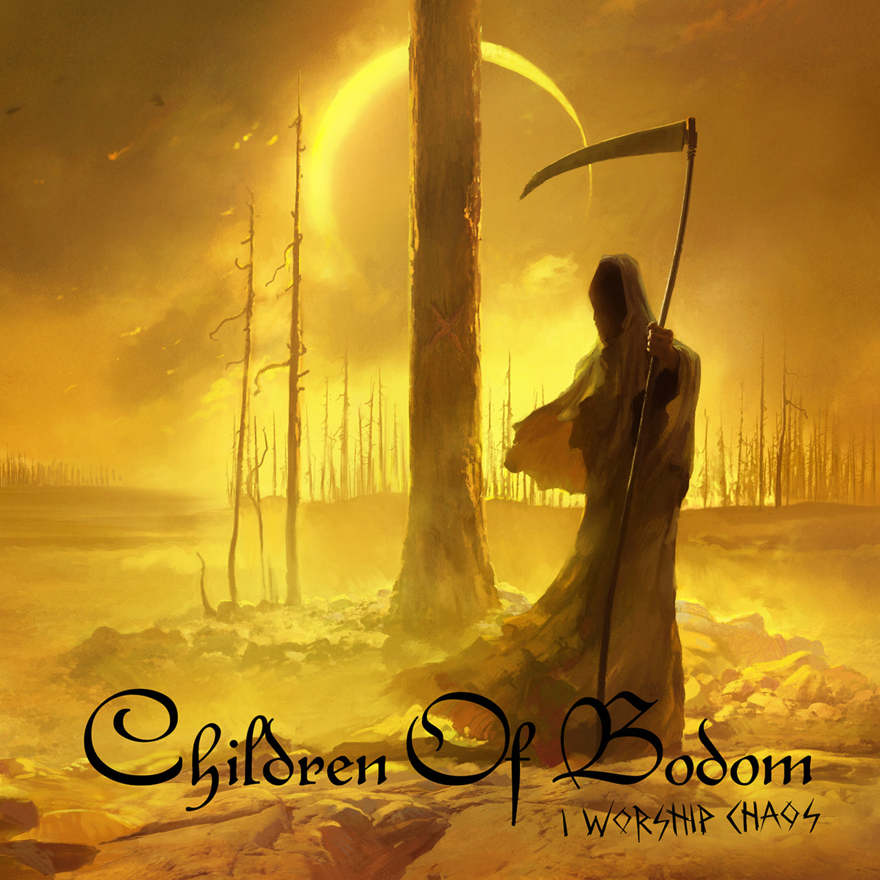 Children Of Bodom : I Worship Chaos  CD