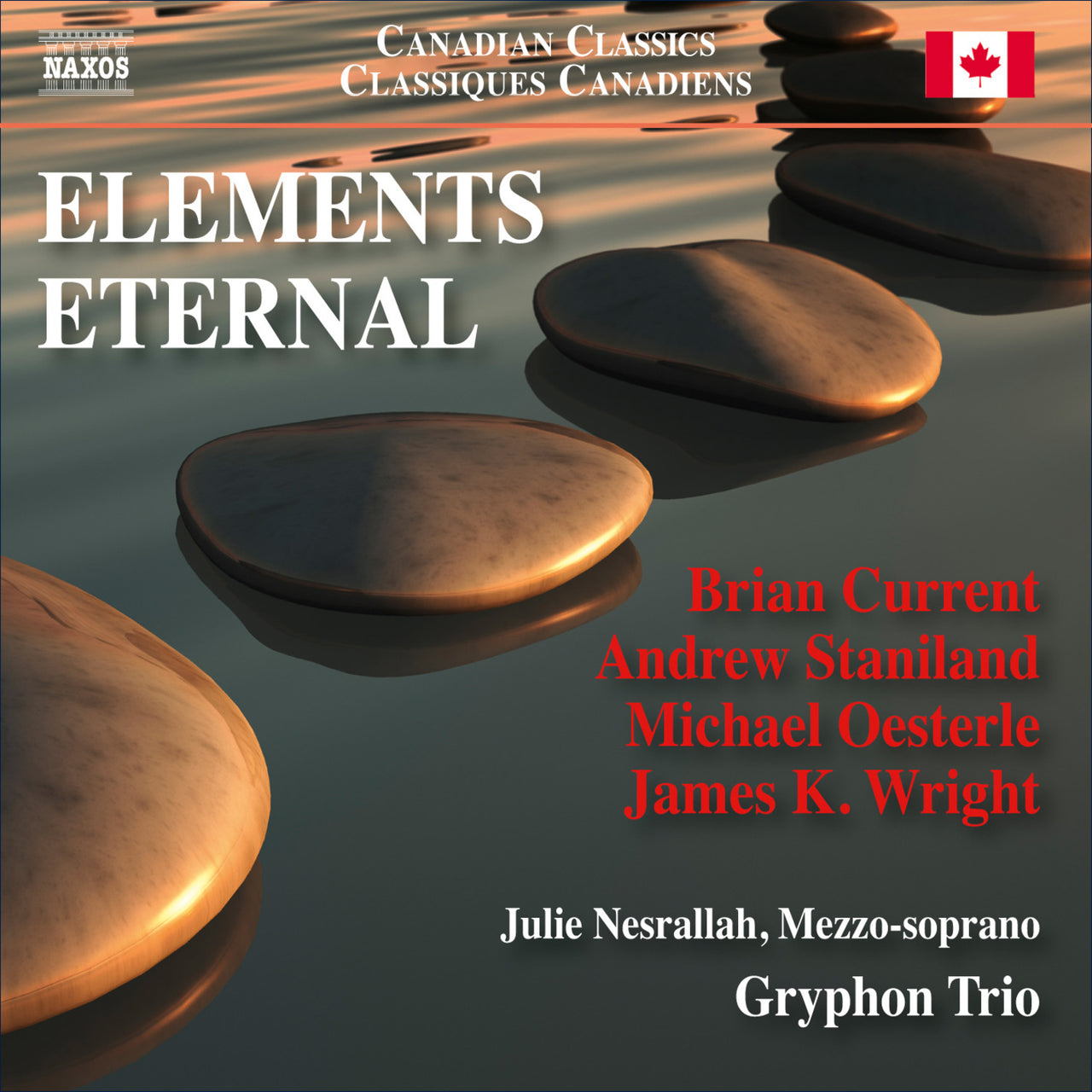 Gryphon Trio : Elements Eternal  CD
