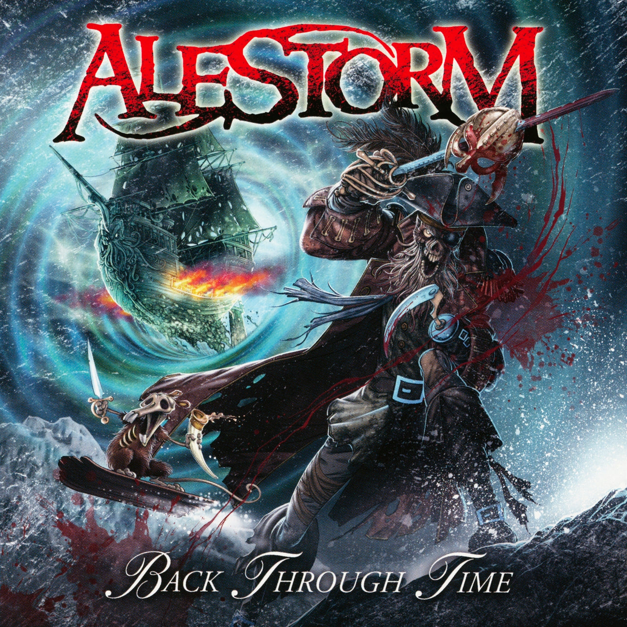 Alestorm : Back Through Time  CD