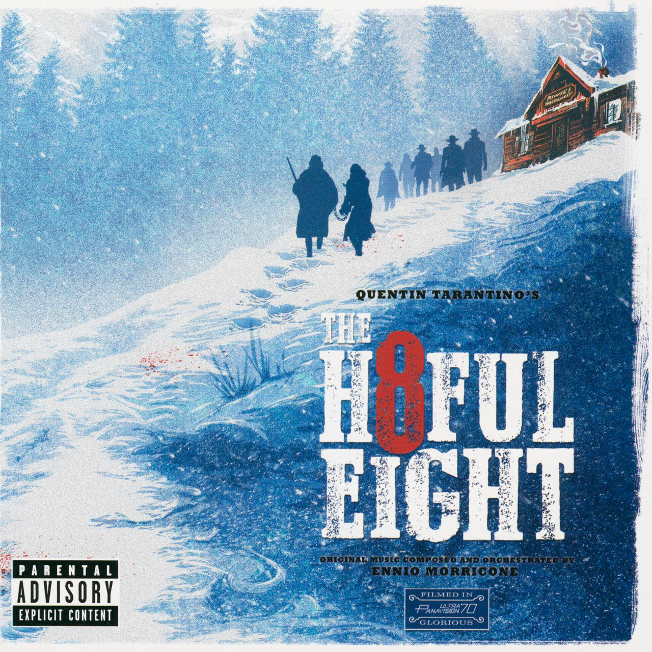 Trame sonore H : The Hateful Eight  CD