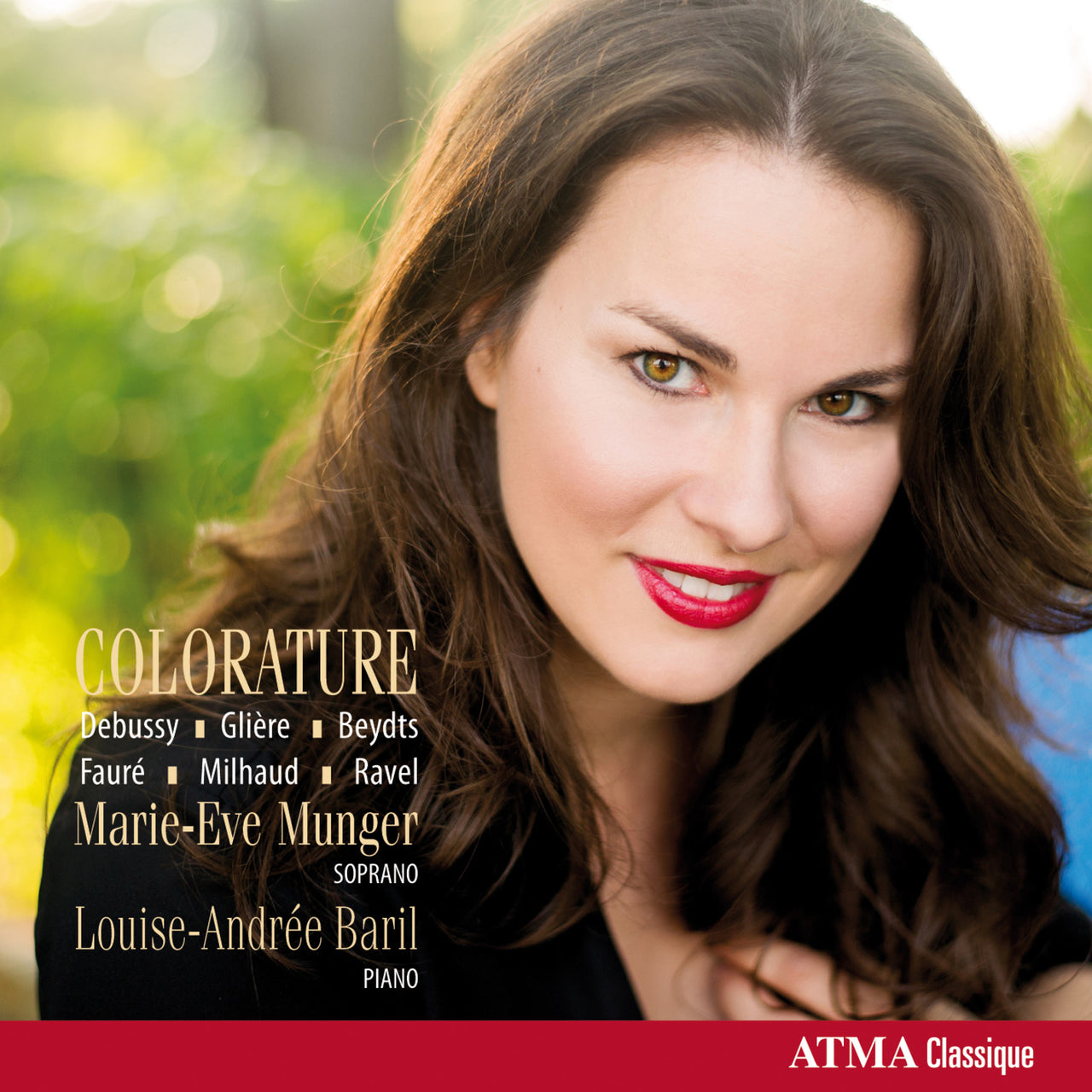 Munger, Marie-Eve : Colorature  CD