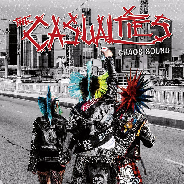 Casualties (The) : Chaos Sound  CD