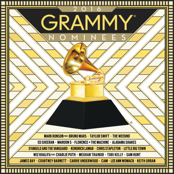 (Artistes variés) : Grammy 2016 Nominees  CD