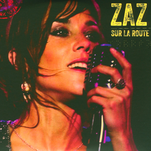Zaz : Sur la route  DVD - CD