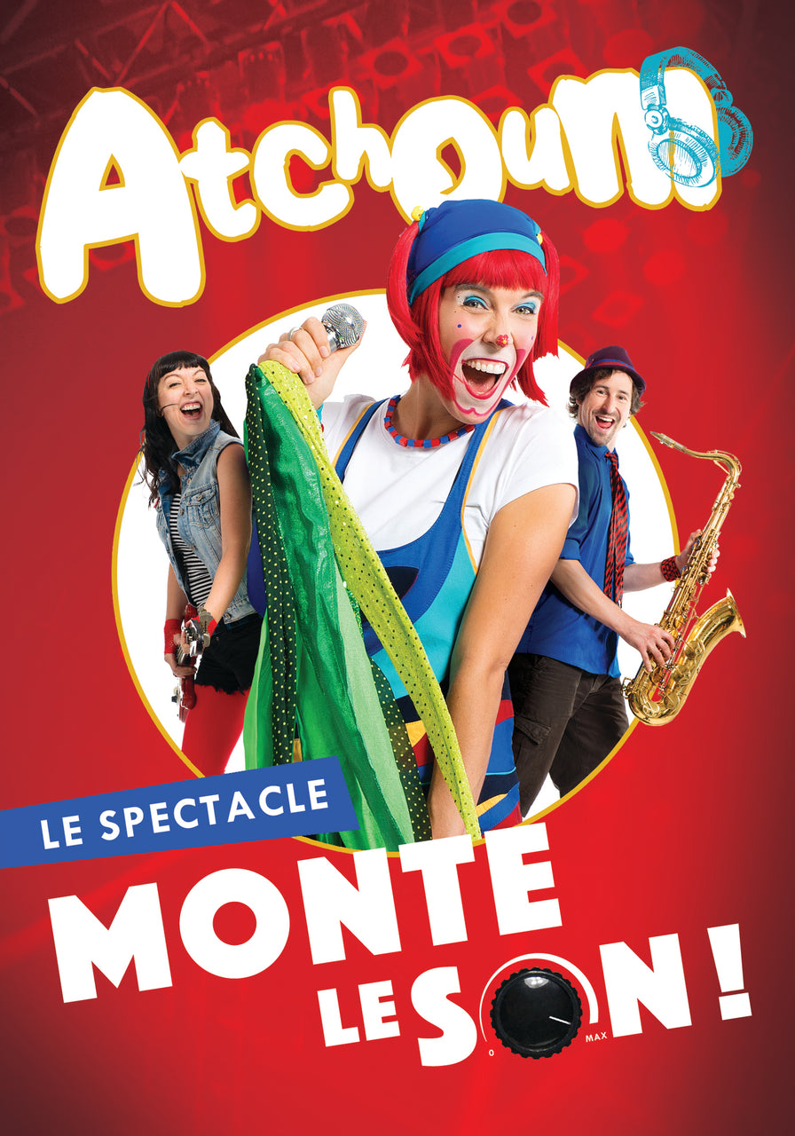 Atchoum le Clown : Monte le son: Le spectacle  DVD