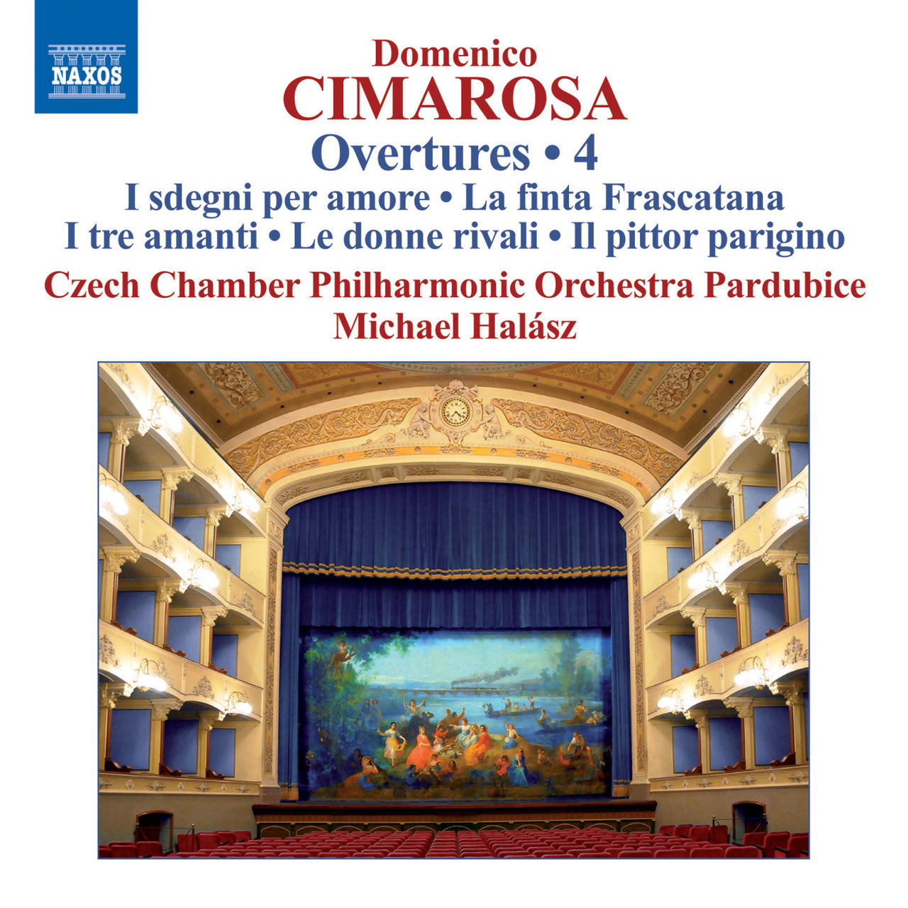 Cimarosa, Domenico : Overtures, Vol. 4  CD