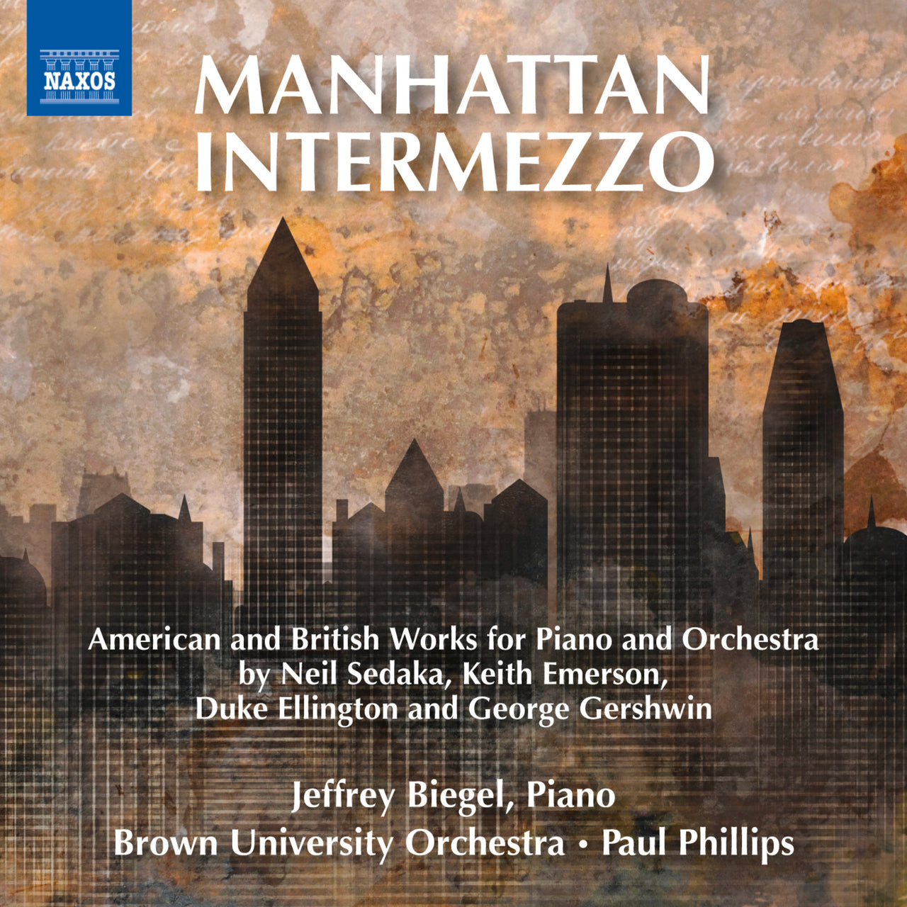 Biegel, Jeffrey : Manhattan Intermezzo  CD