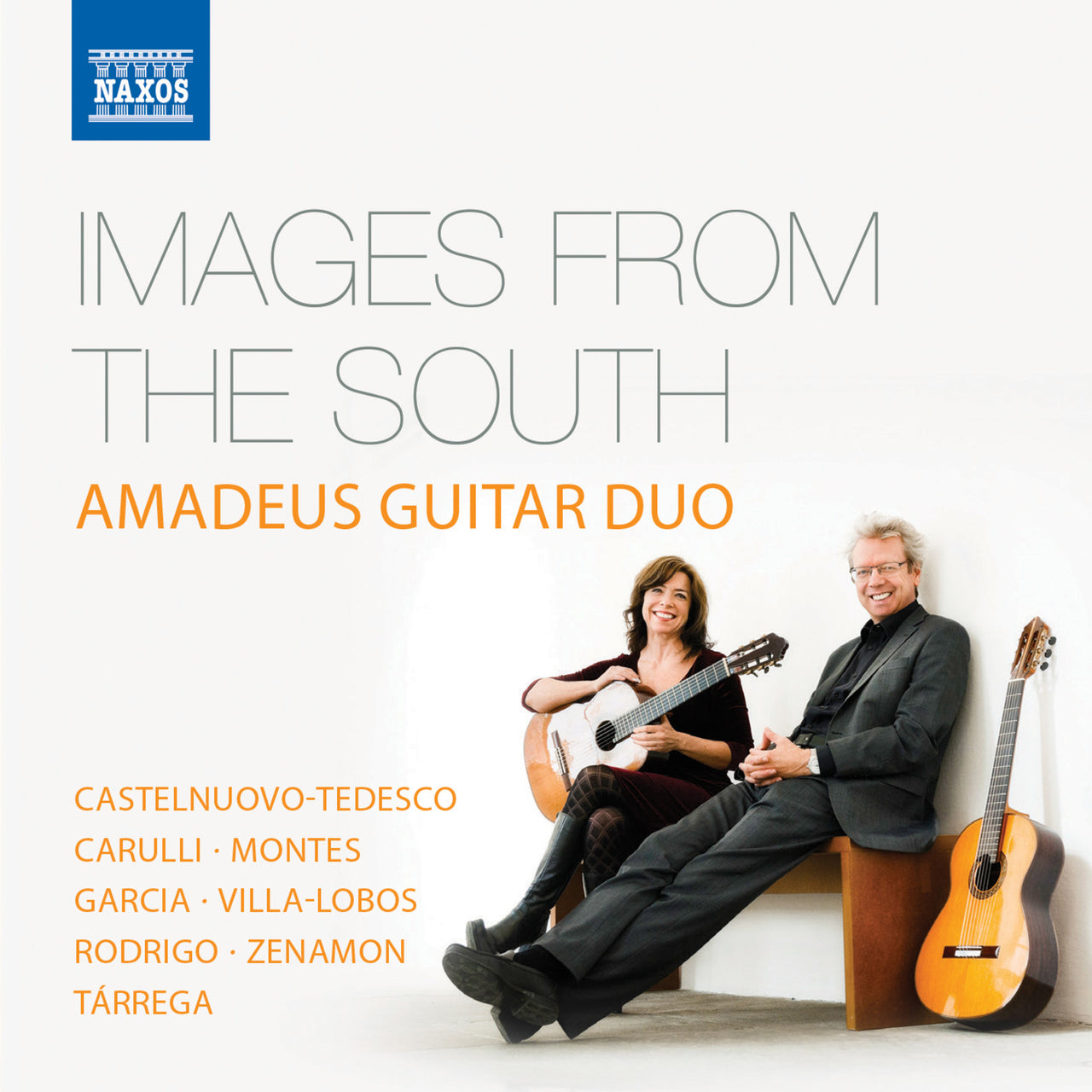 Amadeus Guitar Duo : Images From The South  CD