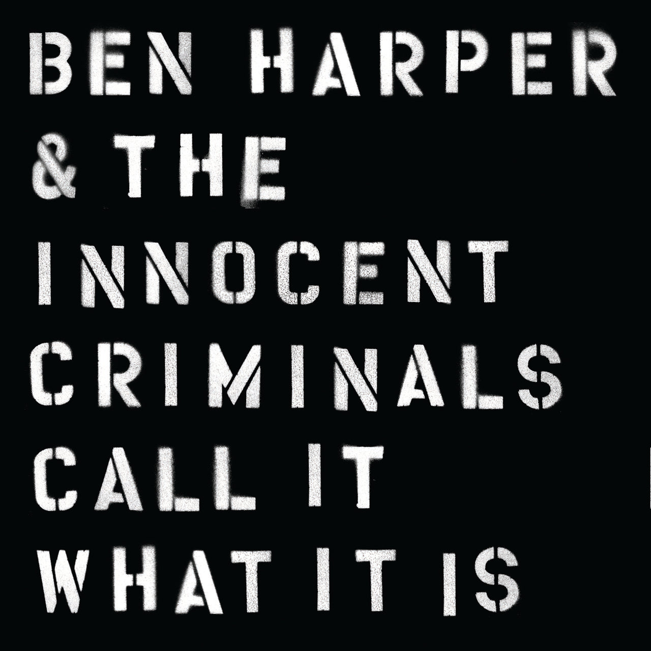 Harper, Ben : Call It What It Is  CD