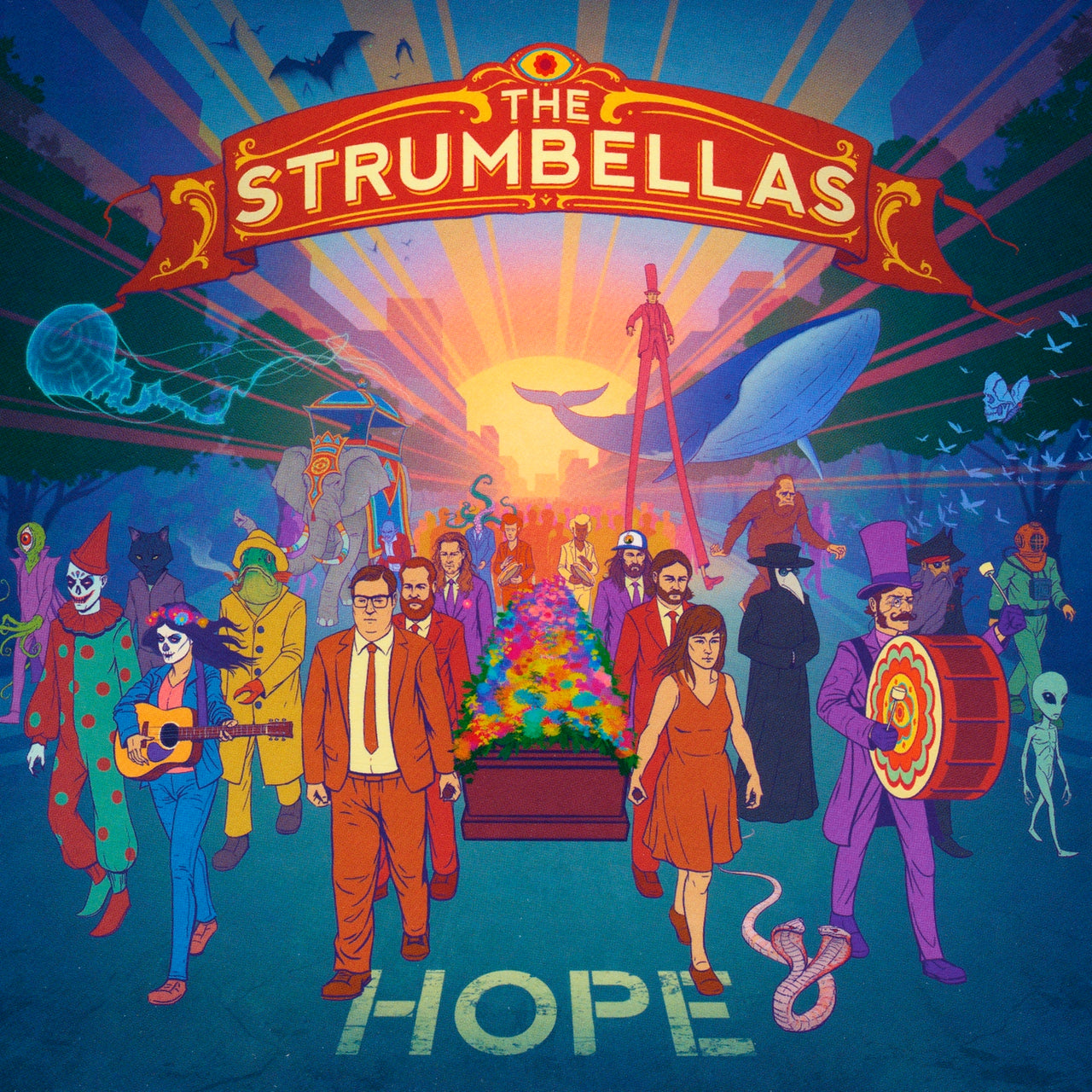 Strumbellas (The) : Hope  CD