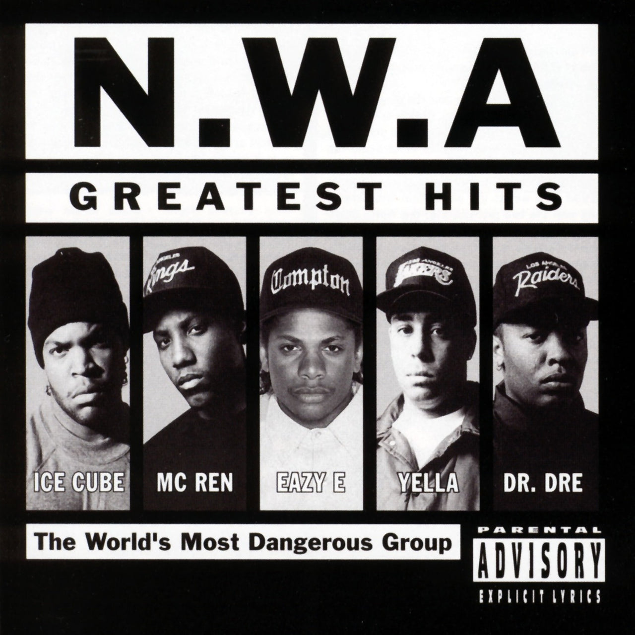 N.W.A. : N.W.A. Greatest Hits  LP