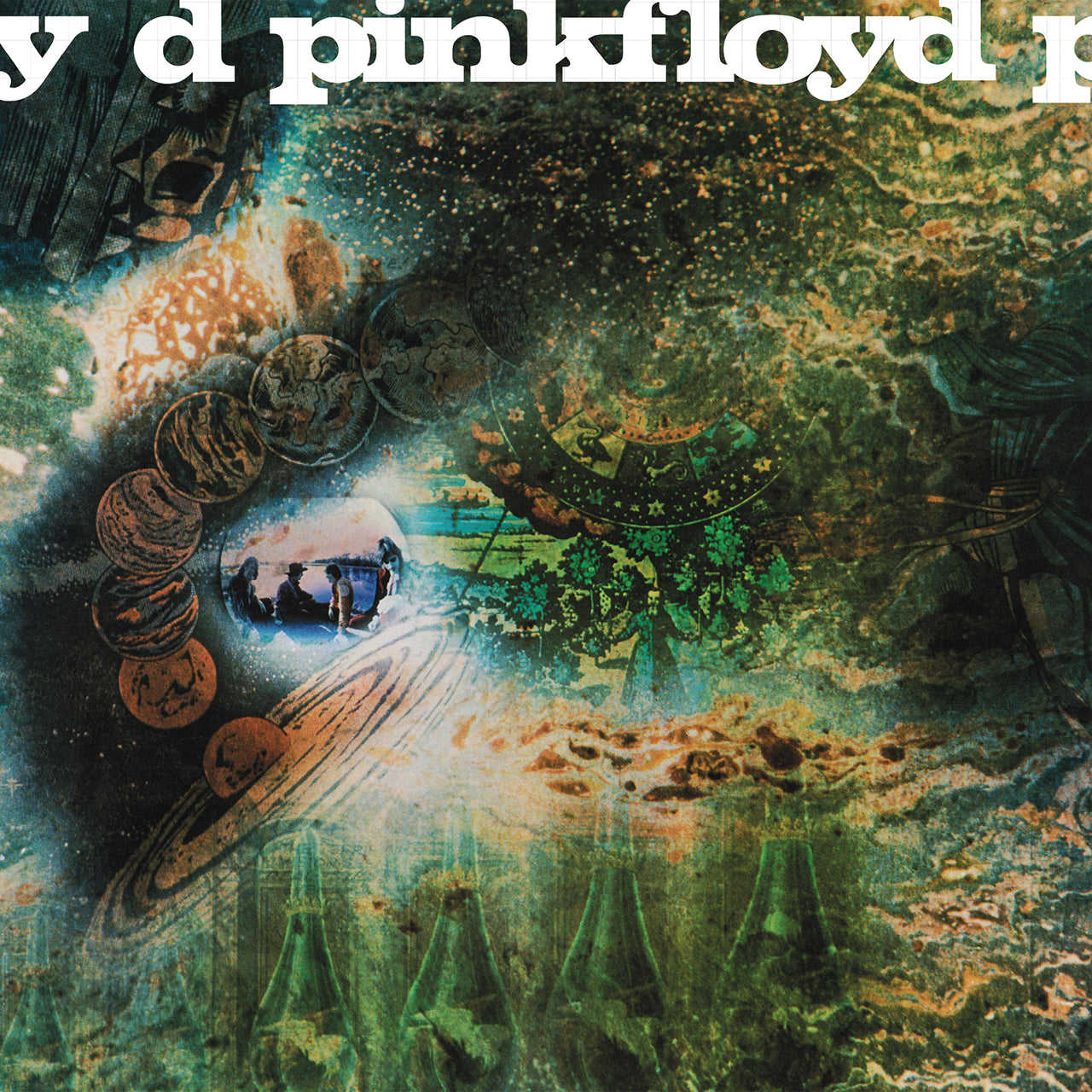 Pink Floyd : A Saucerful Of Secrets  LP