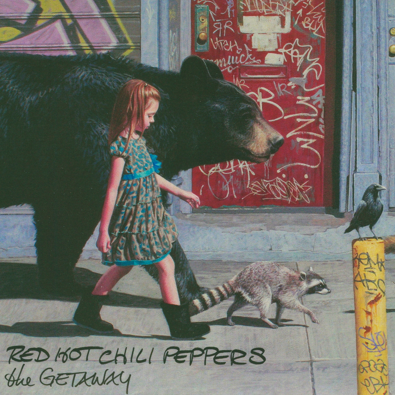 Red Hot Chili Peppers : The Getaway  CD