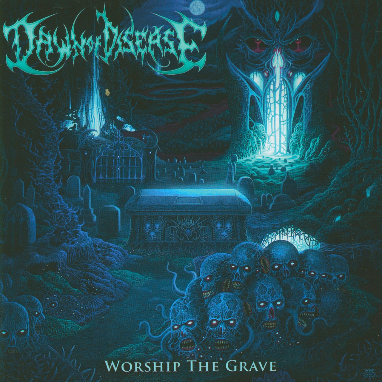 Dawn Of Disease : Worship The Grave  CD