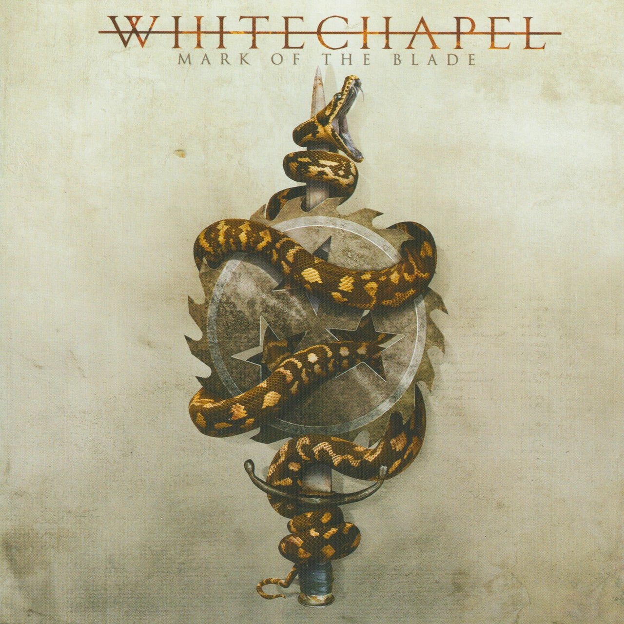Whitechapel : Mark Of The Blade  LP