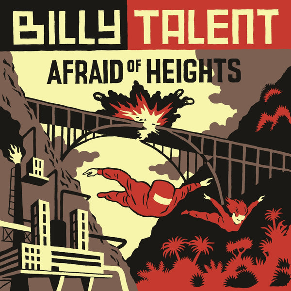 Billy Talent : Afraid Of Heights  CD