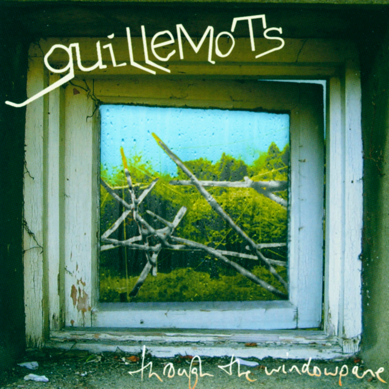 Guillemots : Through The Window Pane  CD