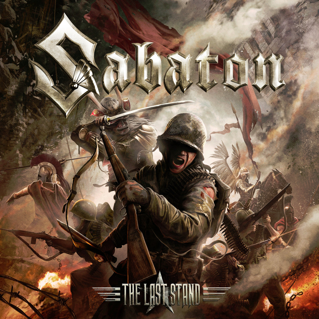 Sabaton : The Last Stand  DVD - CD