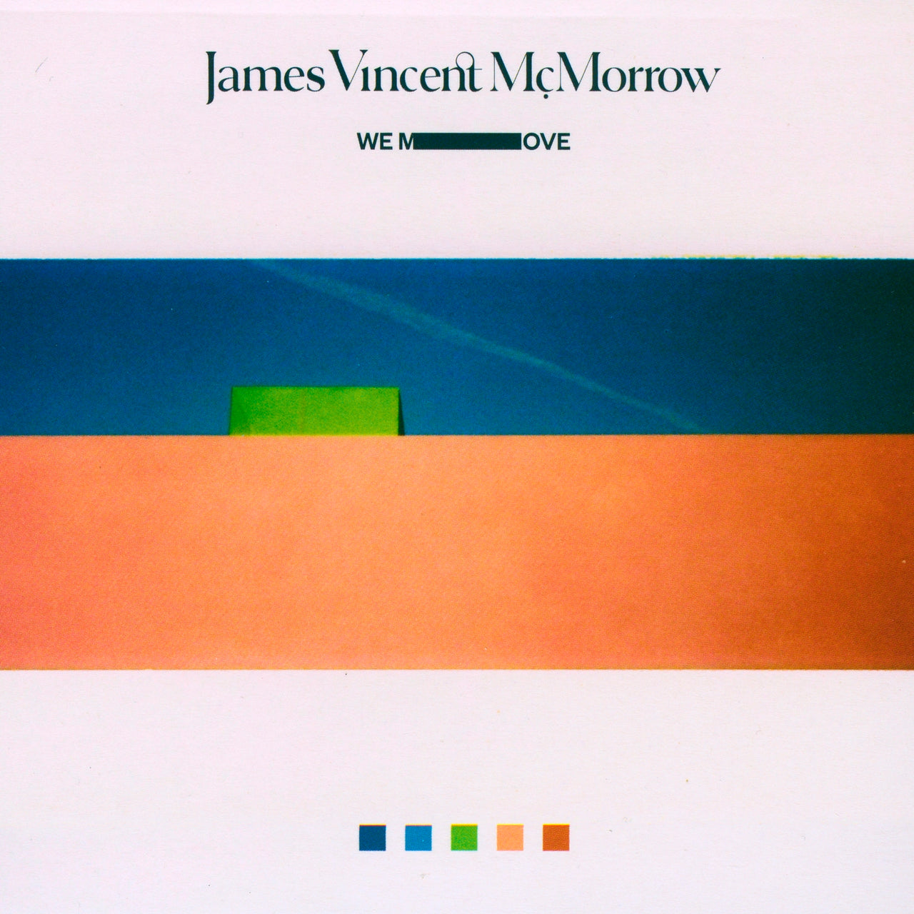 McMorrow, James Vincent : We Move  CD