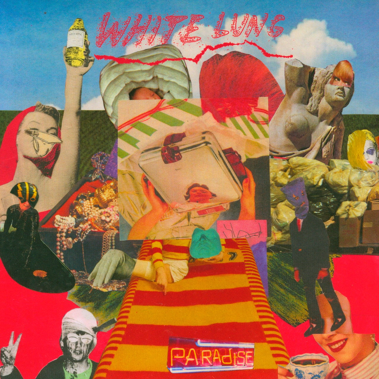 White Lung : Paradise  CD