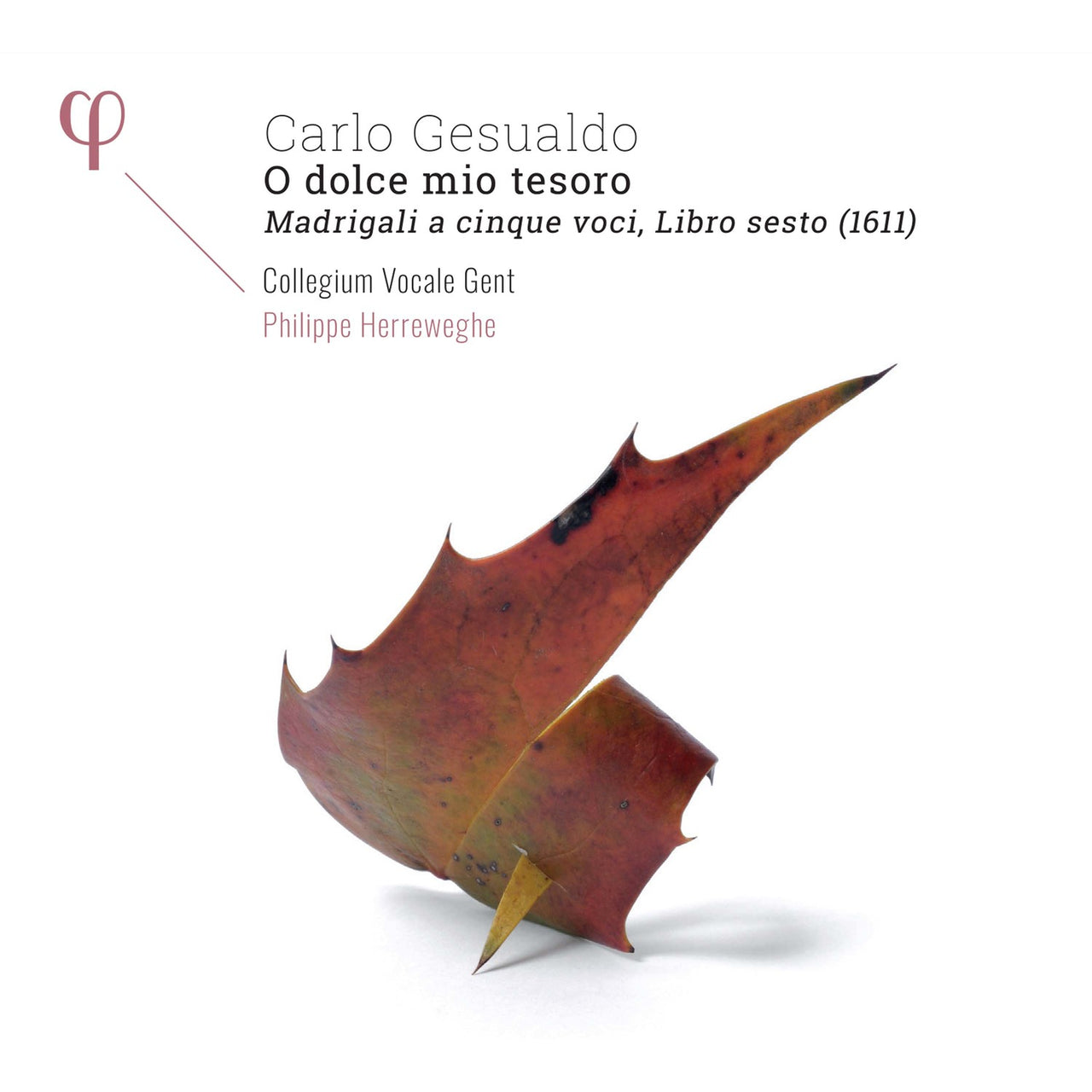 Gesualdo, Carlo : Madrigals, Book 6  CD