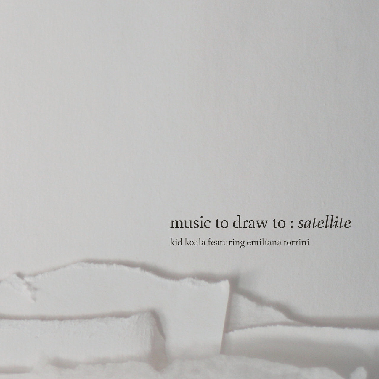 Kid Koala : Music To Draw To: Satellite  CD