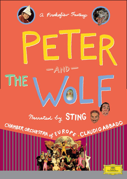 (Artistes variés) : Peter And The Wolf  DVD