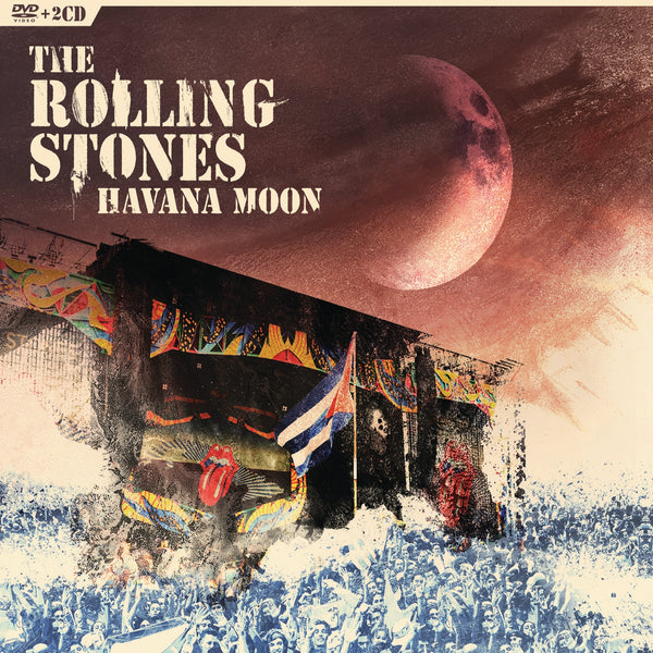 Rolling Stones (The) : Havana Moon  DVD - CD