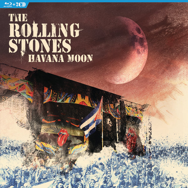 Rolling Stones (The) : Havana Moon  BluRay - CD
