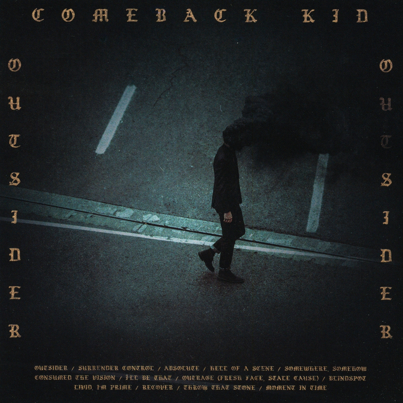 Comeback Kid : Outsider  CD