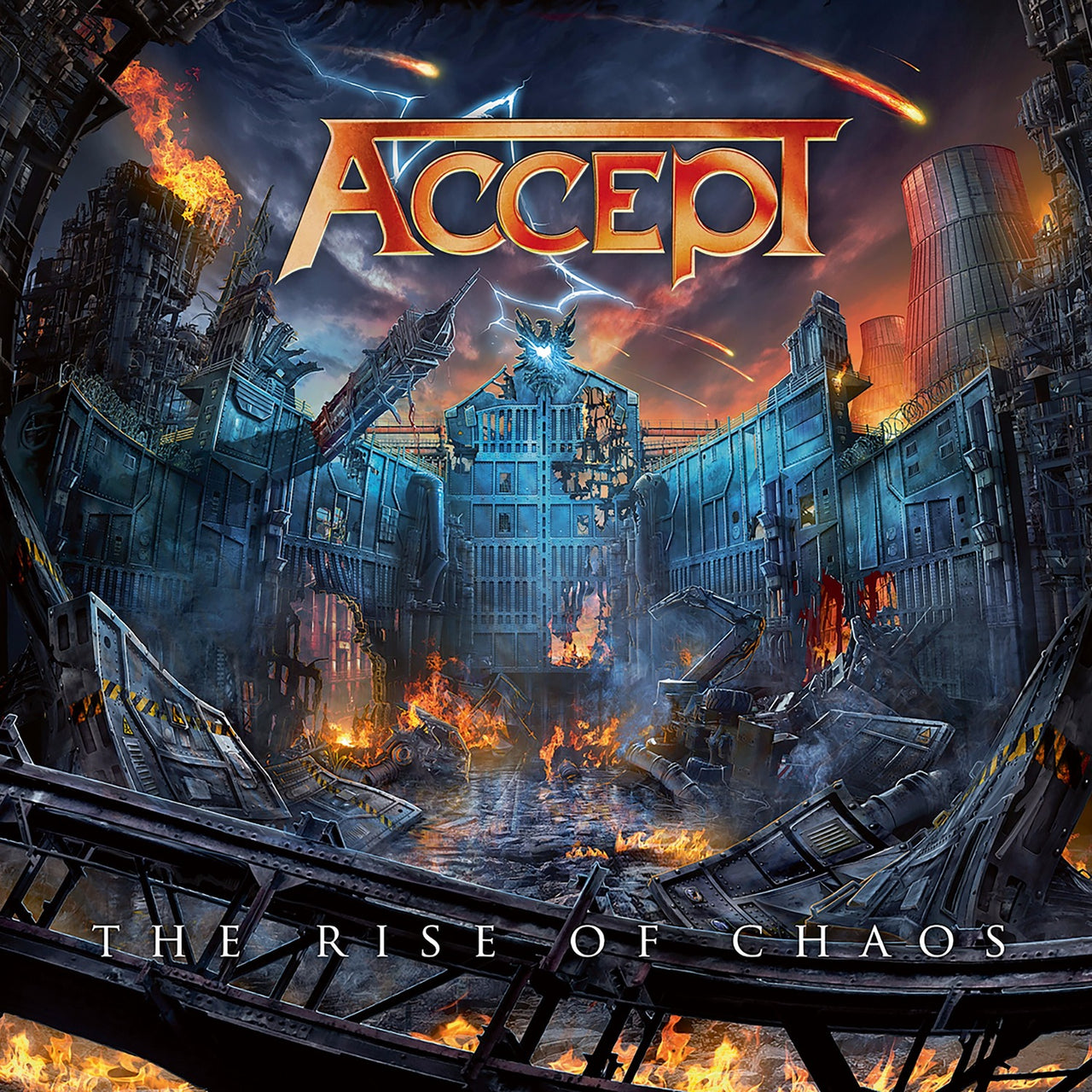 Accept : The Rise Of Chaos  LP