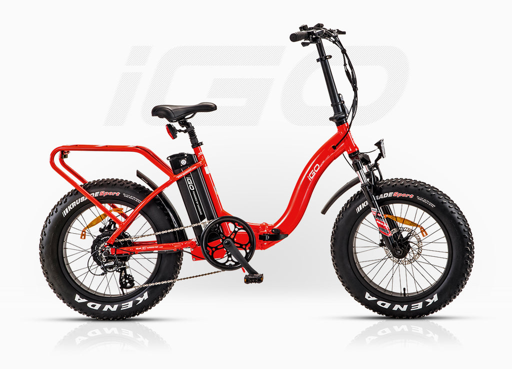 Igo Fat Folding 2018 500w 48v 13ah Igo Electric Bikes