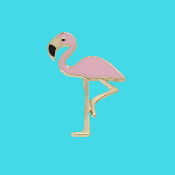 Pin's Flamand Rose