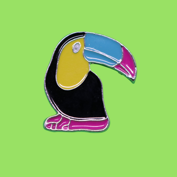 Pin's Toucan Tropical