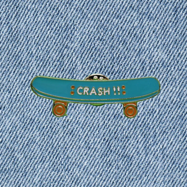 Pin's Skate - Crash