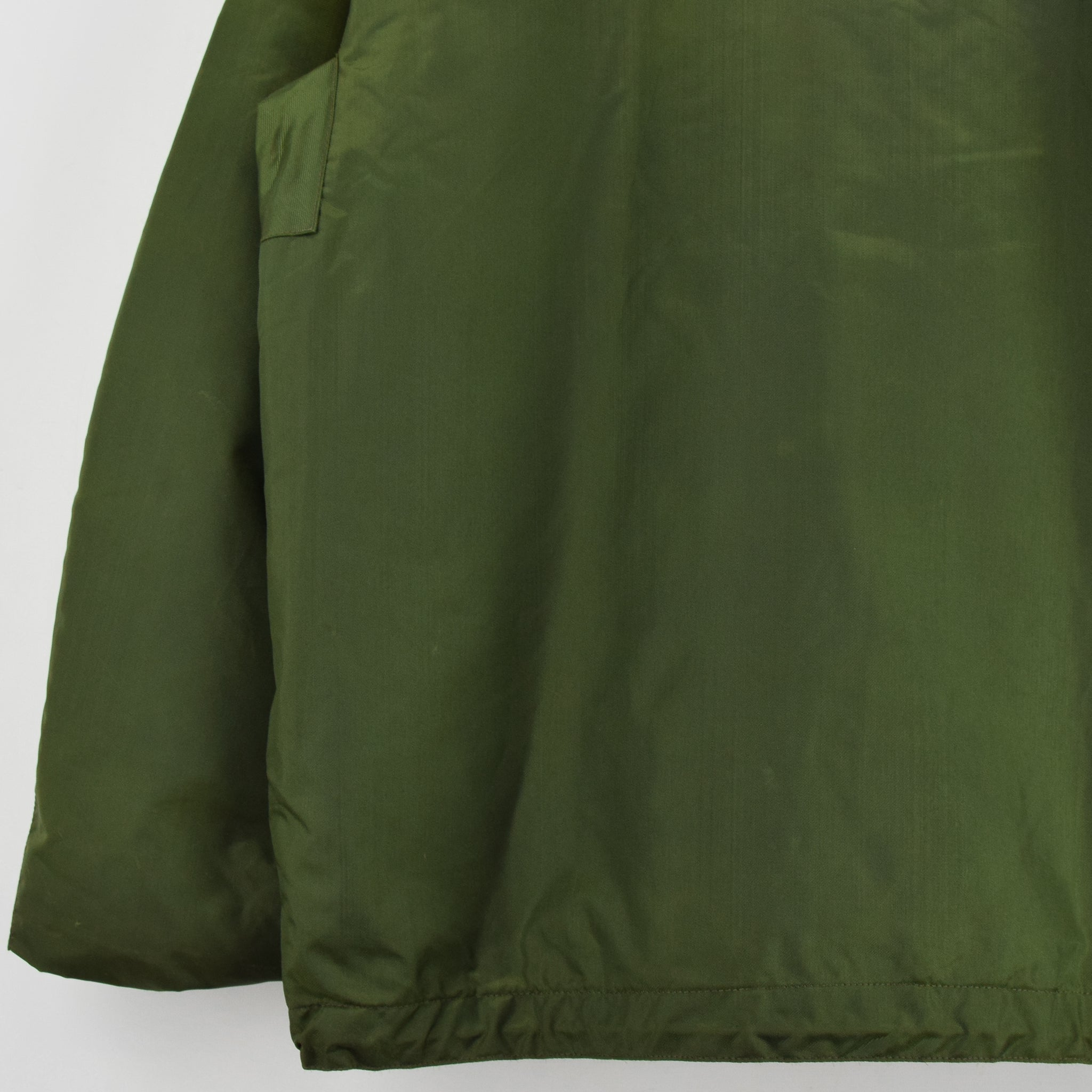 superior quality e0cd6 8e686 Vintage 70s Military Alpha Industries US Navy Cold Weather Impermeable  Jacket L
