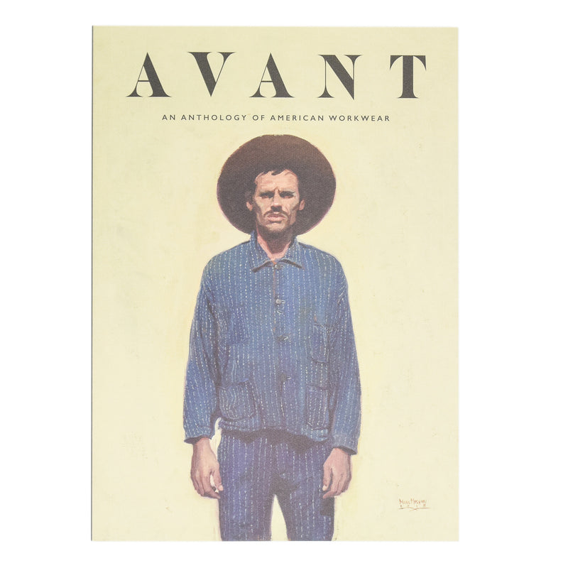 Avant Magazine Volume 1 Anthology Of American Workwear front cover
