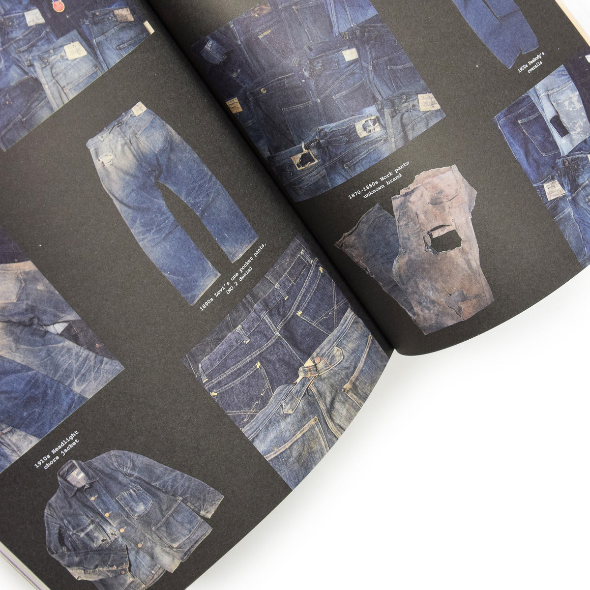 Avant Magazine Volume 1 Anthology Of American Workwear inside pages