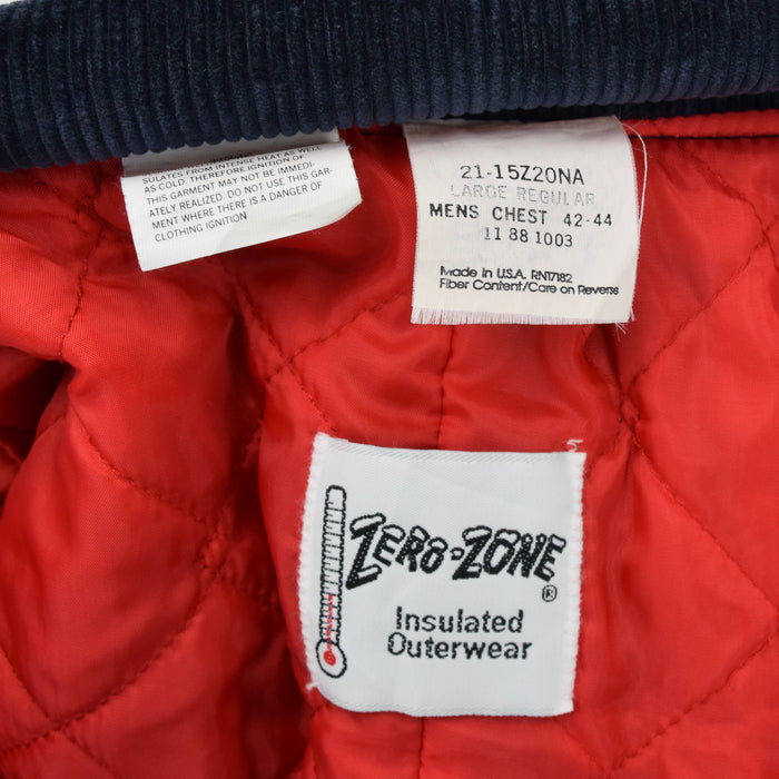 Vintage Walls Zero Zone Workwear Coverall Insulated Overalls Made in USA L label