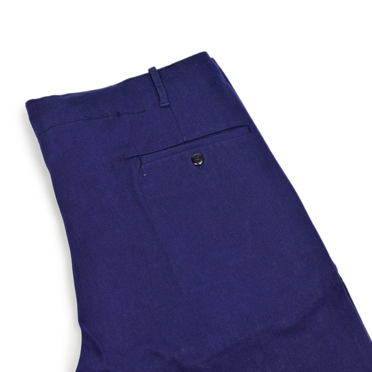 Vintage Workwear Blue French Style Work Utility Trousers Italy Made 36 W 28 L waist