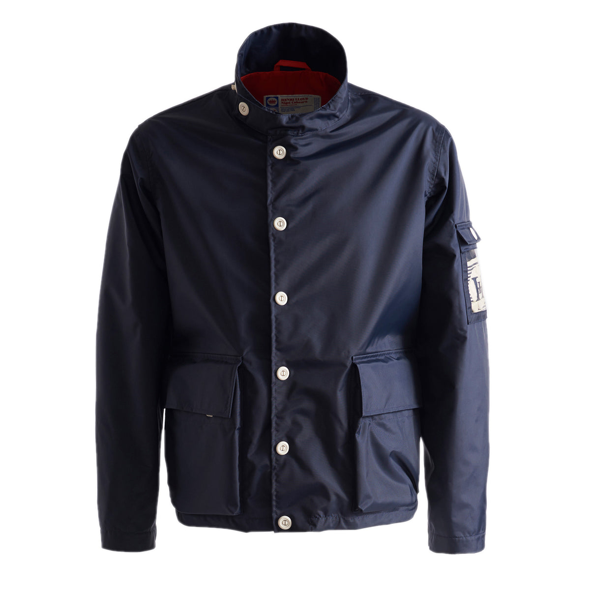 Henri Lloyd X Nigel Cabourn Waterproof Deck Jacket Navy Black Front