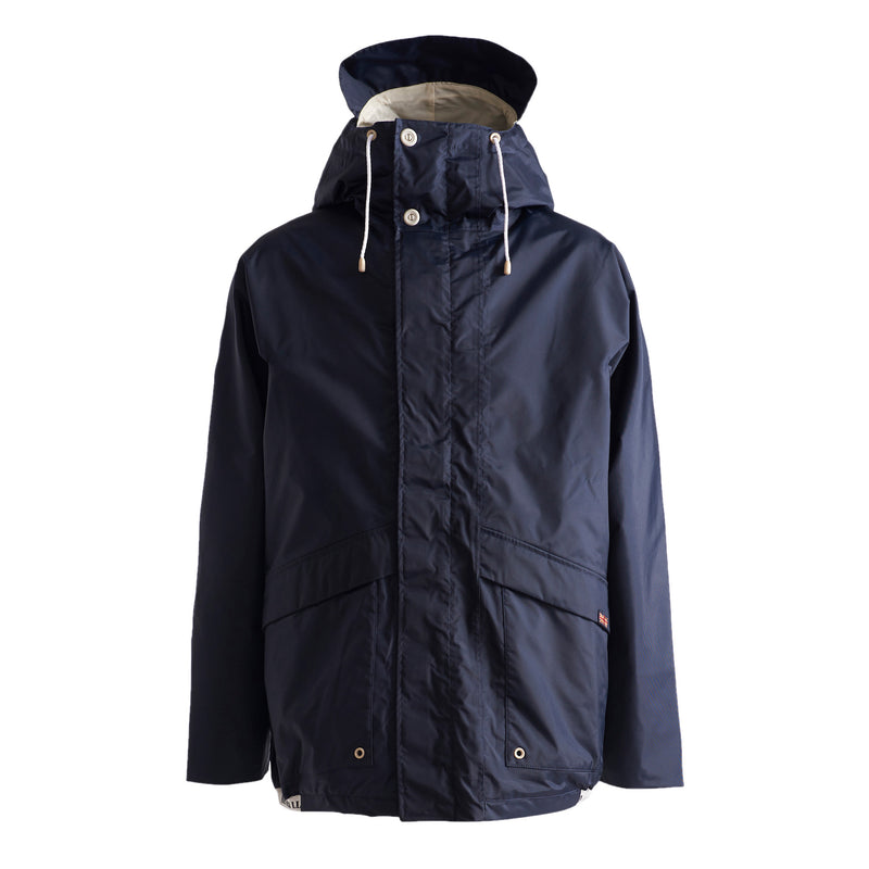 Henri Lloyd X Nigel Cabourn Waterproof Spray Jacket Navy Black Front