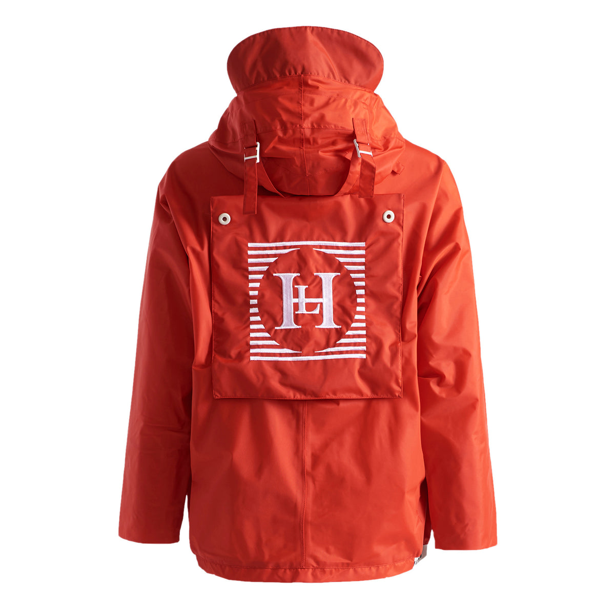 Henri Lloyd X Nigel Cabourn Waterproof Spray Jacket Old Red Back