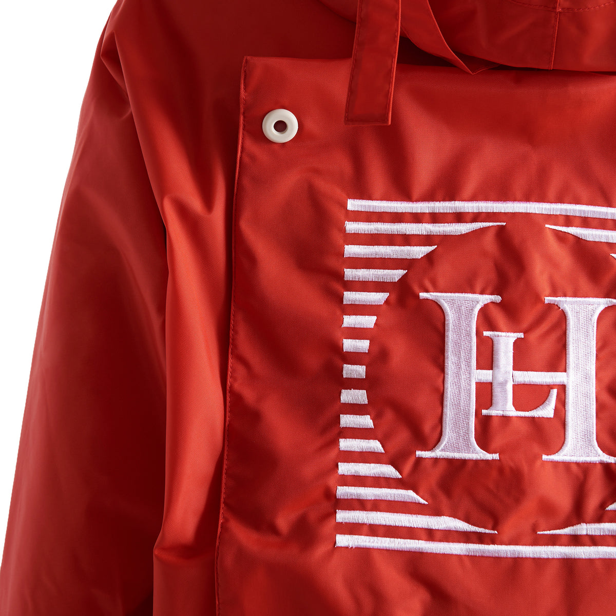 Henri Lloyd X Nigel Cabourn Waterproof Spray Jacket Old Red Badge