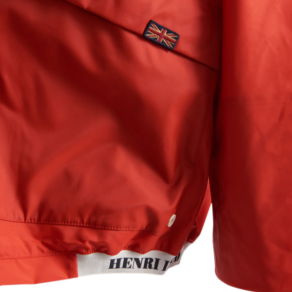 Henri Lloyd X Nigel Cabourn Waterproof Spray Jacket Old Red Cuff