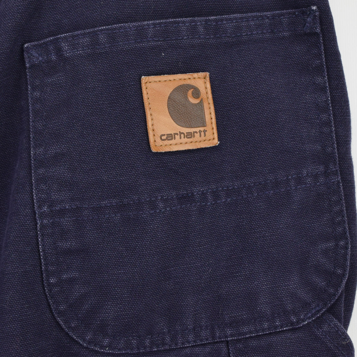 Vintage Carhartt Duck Canvas Utility Work Pant Blanket Lined 36 W 34 L back pocket