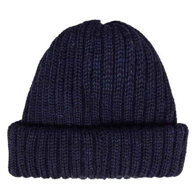 Connor Reilly Wool Watch Cap Navy Made In England Front