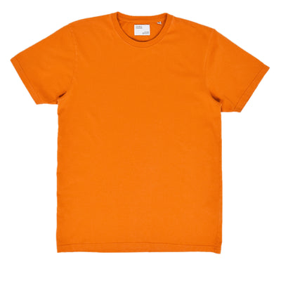 Colorful Standard Organic Cotton Tee Burned Orange front