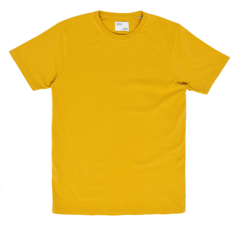 Colorful Standard Organic Cotton Tee Burned Yellow front